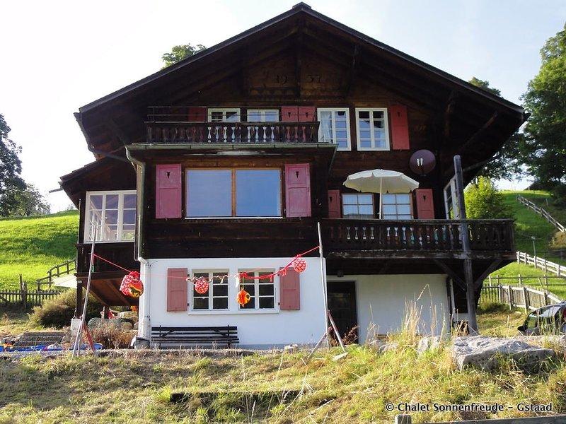 Sonnenfreude, Chalet, vacation rental in Saanenmoser