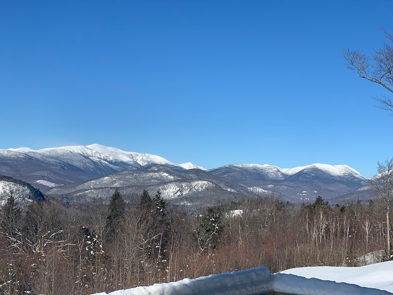 Direct Mount Washington View From Deck