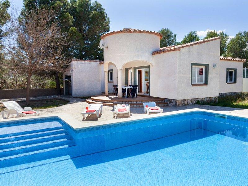 Villa Sant Jordi, alquiler vacacional en Benissanet