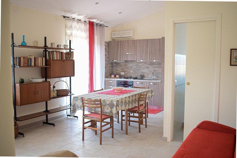 Beach House Vaccarizzo II, holiday rental in Villaggio San Leonardo