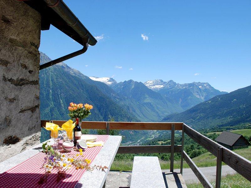 Baita Ficc, holiday rental in Acquarossa