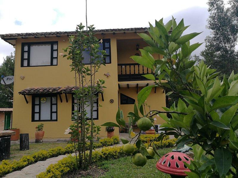 Casa Campestre Villa Santana, holiday rental in Villa de Leyva