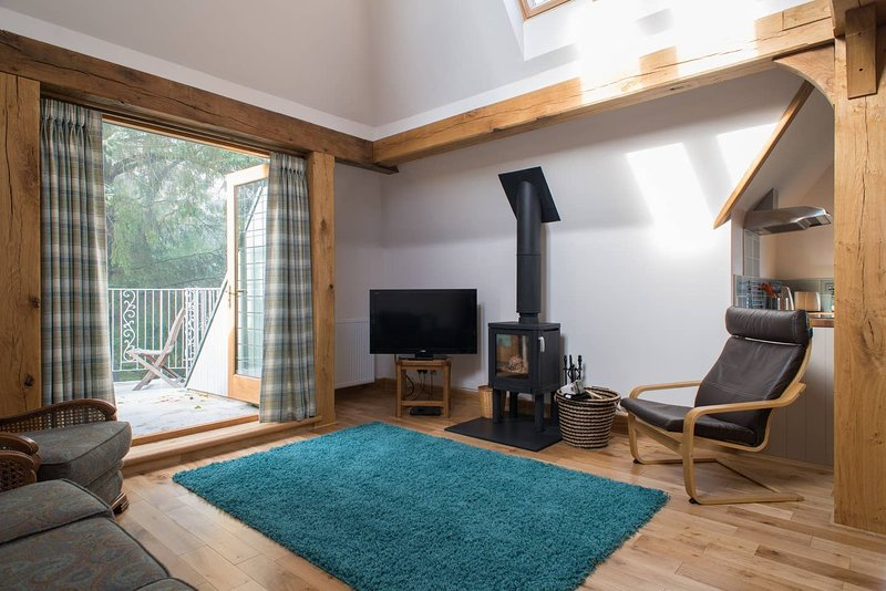 The Giddy Limit, holiday rental in Luthrie
