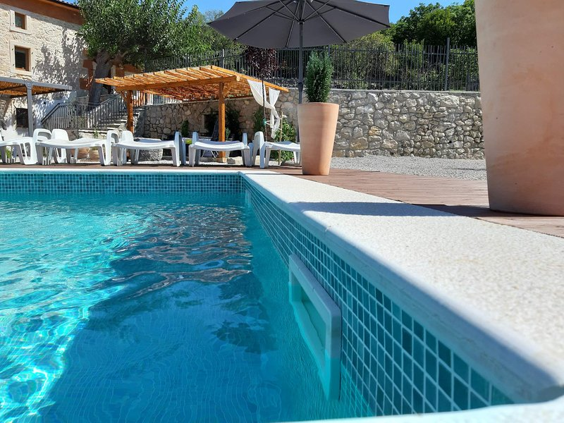 Spacious villa with swimming-pool, location de vacances à Vozilici