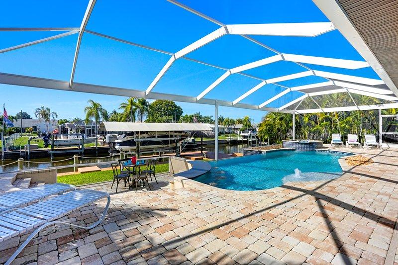 Vacation Rentals - Villa santa Rosa pool area