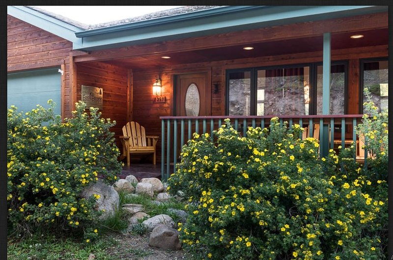 Building,House,Cottage,Porch,Chair
