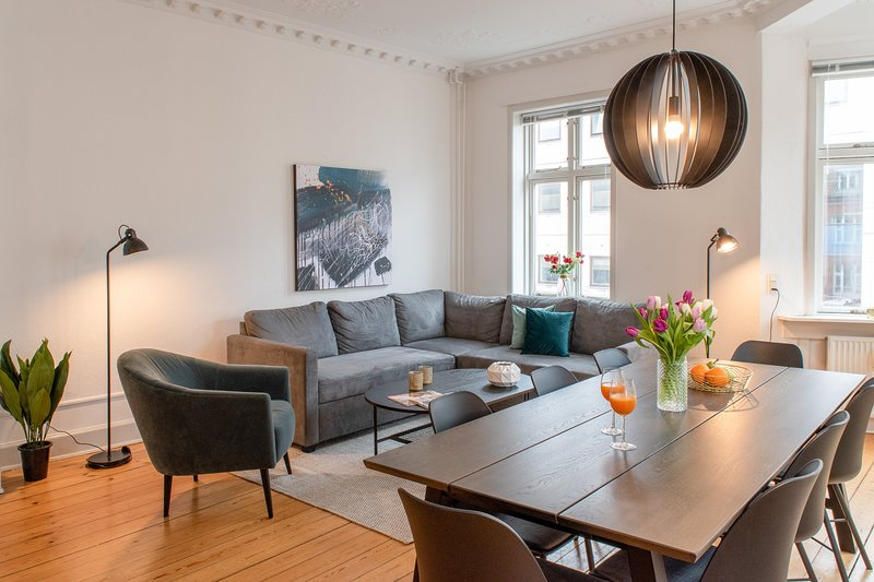 Spacious 3-bedroom apartment in the heart of Arhus, casa vacanza a Harlev