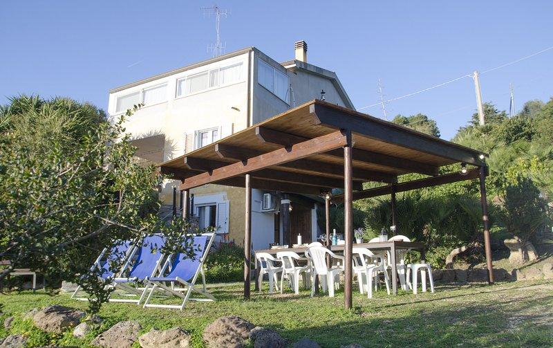 Appartamento campagna Valverde, casa vacanza a Villanova Monteleone