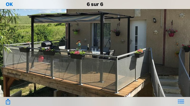 Amazing house with garden & terrace, holiday rental in Bergeres-les-Vertus