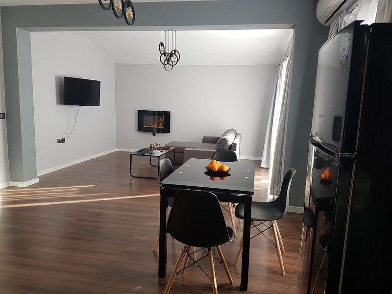 Beautiful apartment with terrace, holiday rental in Sopot