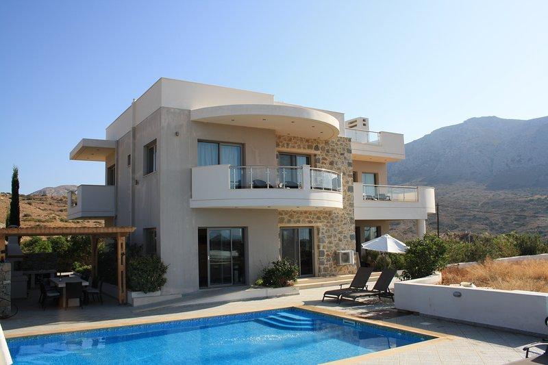 Villa Danae Crete, location de vacances à Makry-Gialos