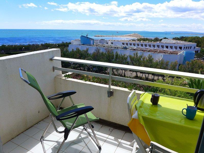 Les Terrasses de la Mer, location de vacances à La Grande Motte