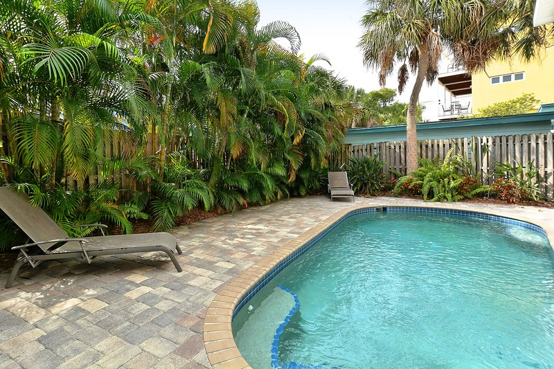 Beachwalk heated pool - shared with other townhomes at Beachwalk