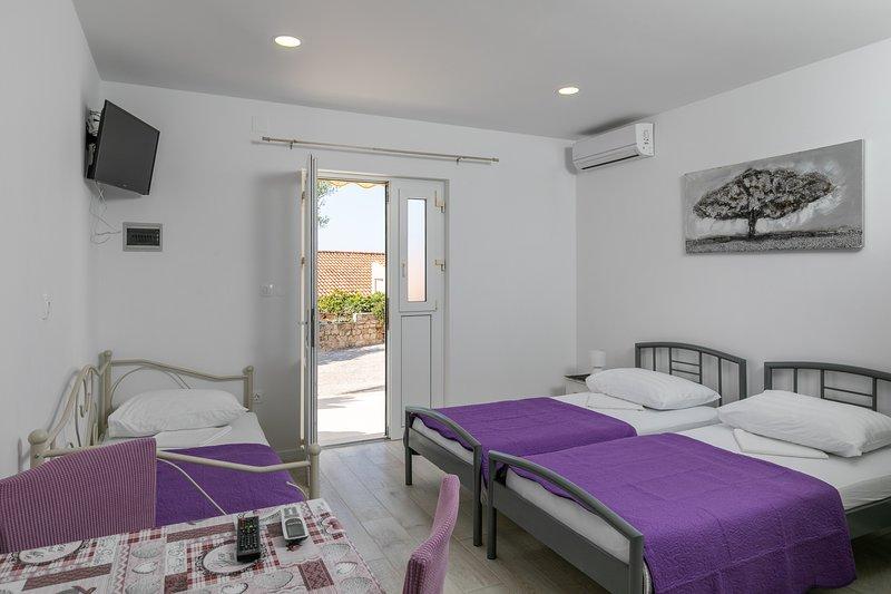 Apartments Karol & Mara - Studio, holiday rental in Srebreno