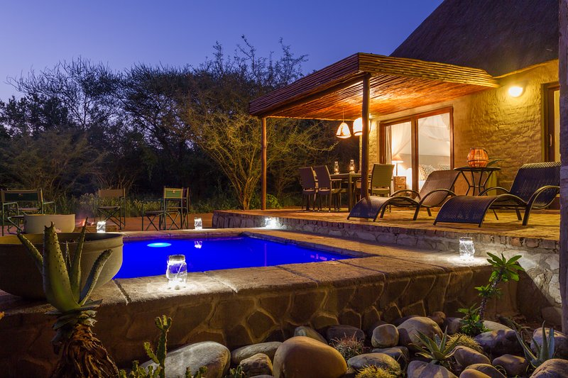 Zebra Lodge, self catering Villa close to Kruger Park, holiday rental in Balule Nature Reserve