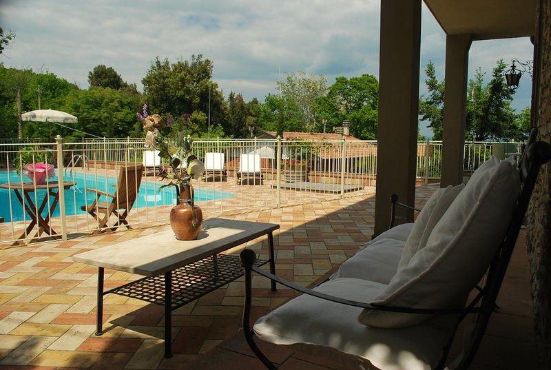 ITA1307 Villa Il Cipresso by Holiday World, holiday rental in Sassetta