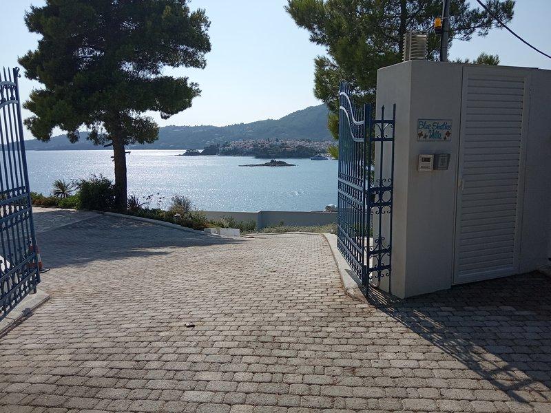 Blue Skiathos LTD (Live The Dream ) Private Villa, location de vacances à Skiathos Town