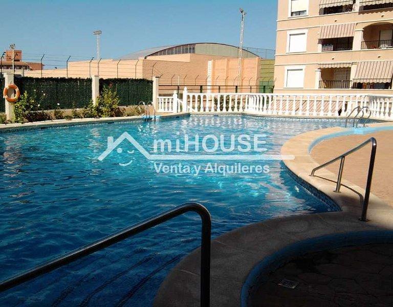 4883 - Apartamento Playa Bonita, alquiler vacacional en Guardamar del Segura