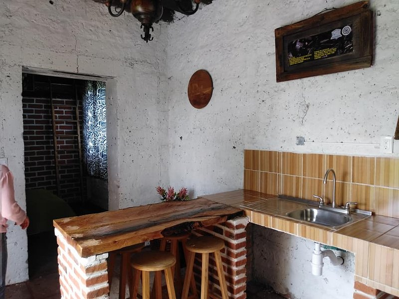Rustic spaces in our facilities.
