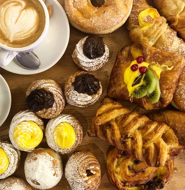 An Italian breakfast is available upon request.