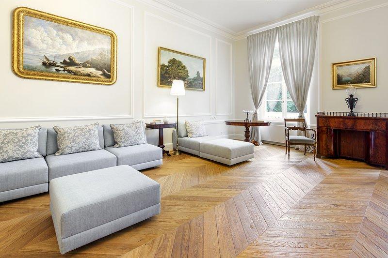 Manowce Palace - Suite with Garden View (Room 14), location de vacances à Nowe Warpno