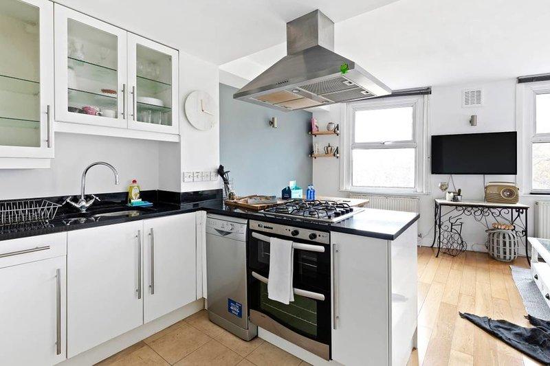 Contemporary kitchen.