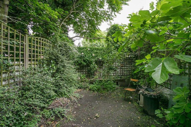 El jardin privado.