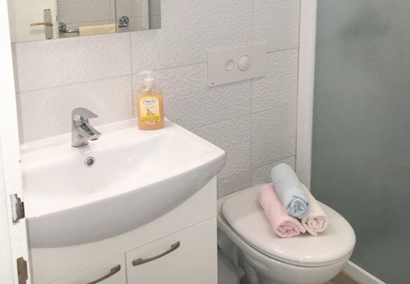A4 (2 + 2): salle de bain avec WC