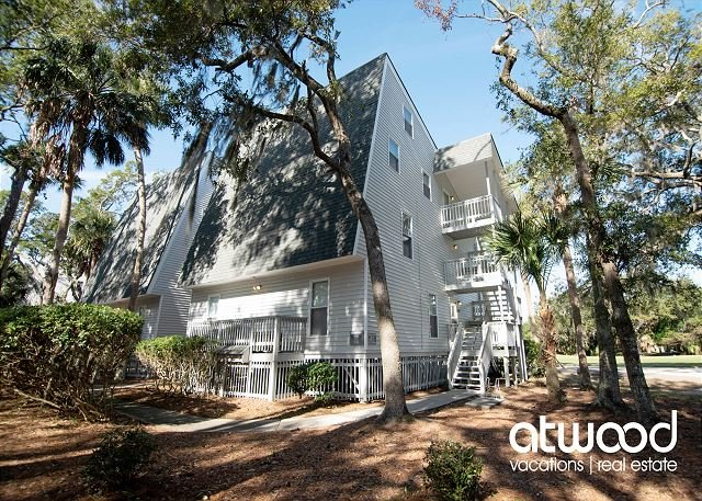 Driftwood Villa 259 - Roomy One Bedroom With Golf Course Views, vacation rental in Edisto Island