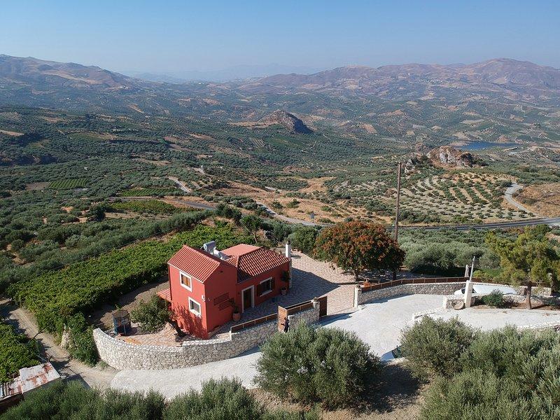 Metochi Vathypetrou, holiday rental in Peza