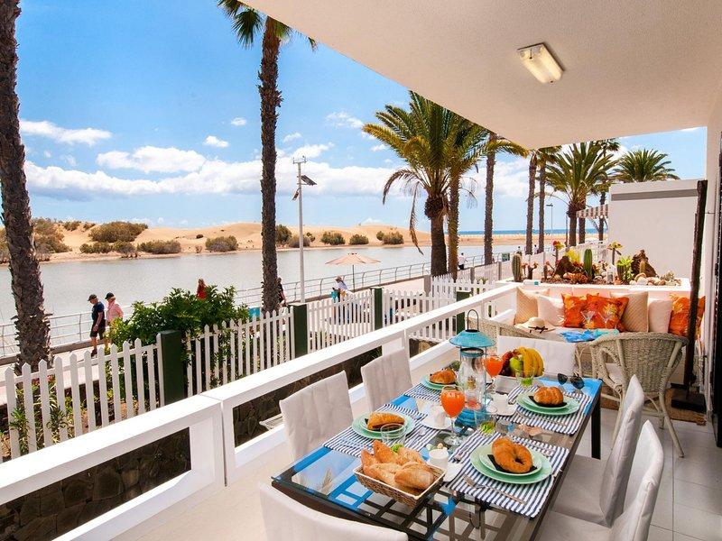 Maspalomas Beach front Apartment ref. AB, vacation rental in Maspalomas