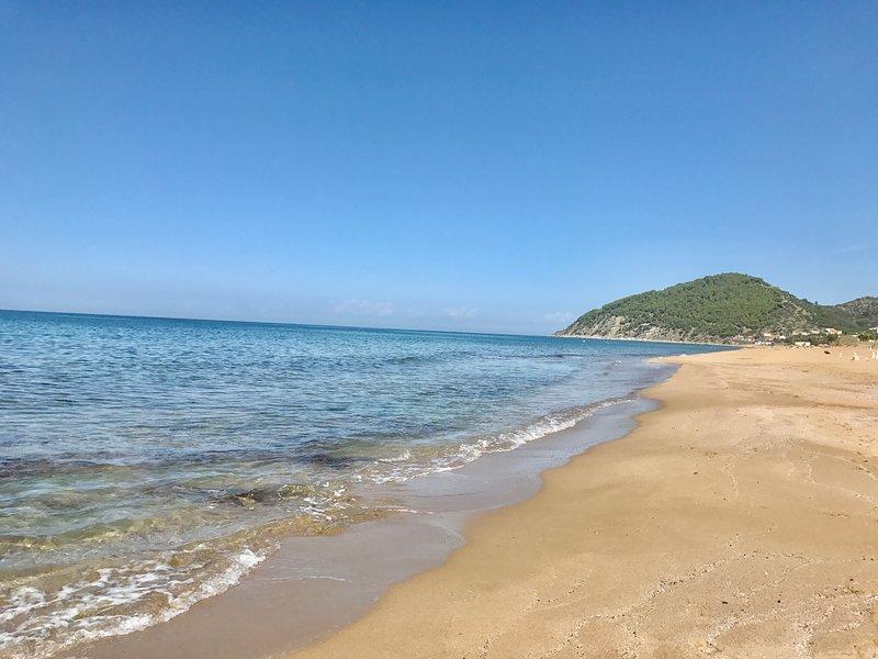 Blue Flag awarded sandy beaches