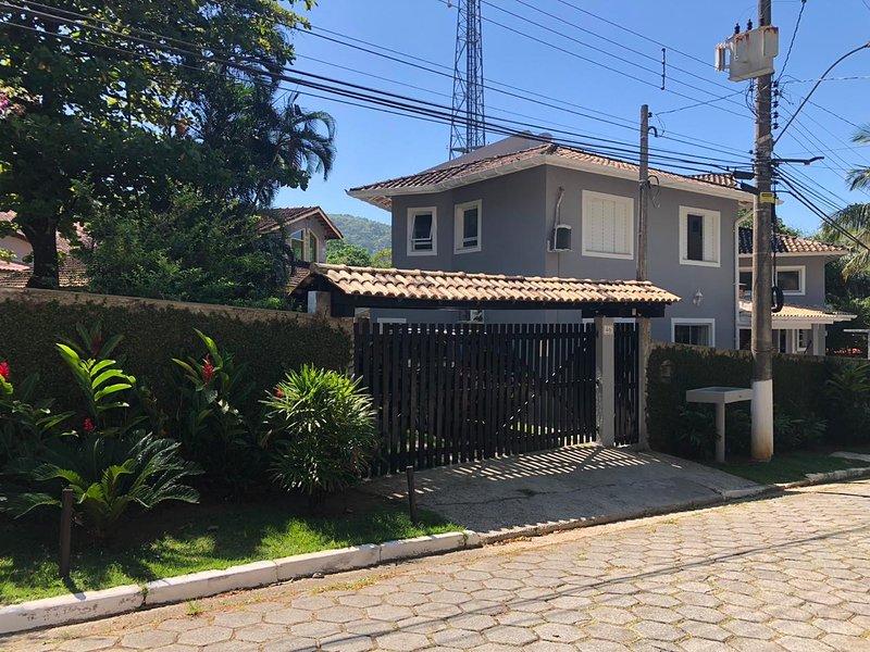 External facade of the house entrance