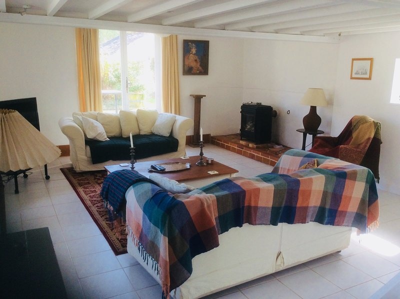 Nice house with garden & Wifi, location de vacances à Saint-Sauveur-le-Vicomte