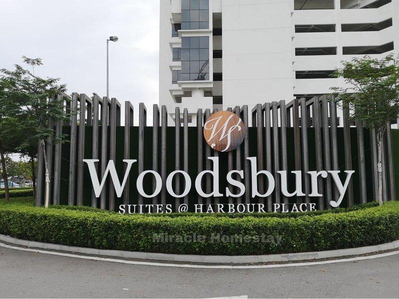 ❤️ Woodsbury Suites | Cozy Getaway 2R2B | Family 7Pax ❤️, vacation rental in Seberang Jaya