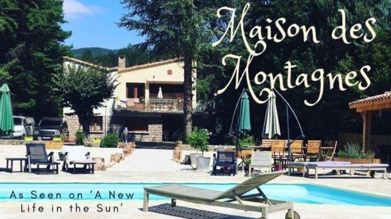 Maison des Montagnes, holiday rental in Saint-Ferriol
