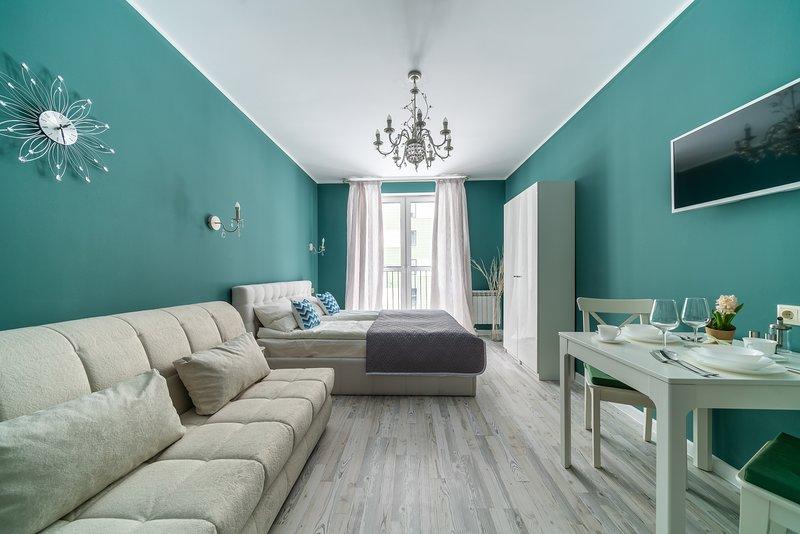 Letyourflat Studio 'Indigo 3', holiday rental in Kudrovo