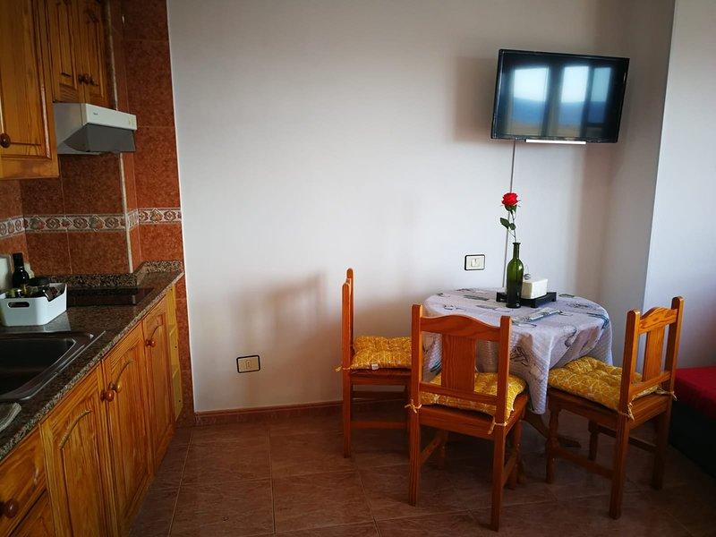 Mirador de Teide, a Primera linea de Playa, holiday rental in Puerto de las Nieves