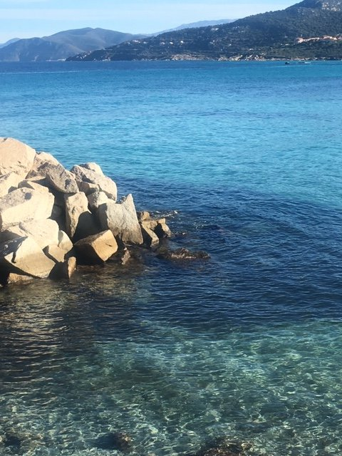 cristal clear waters