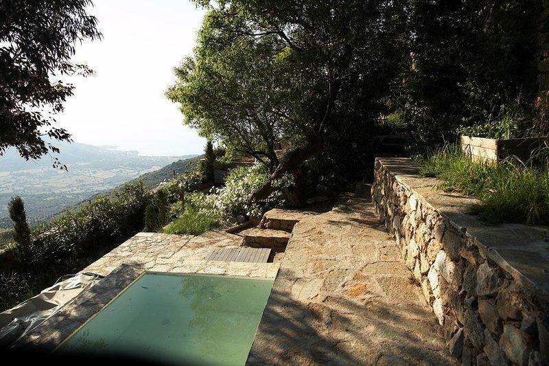 Sant Antonino , Corsica, location de vacances à Pigna