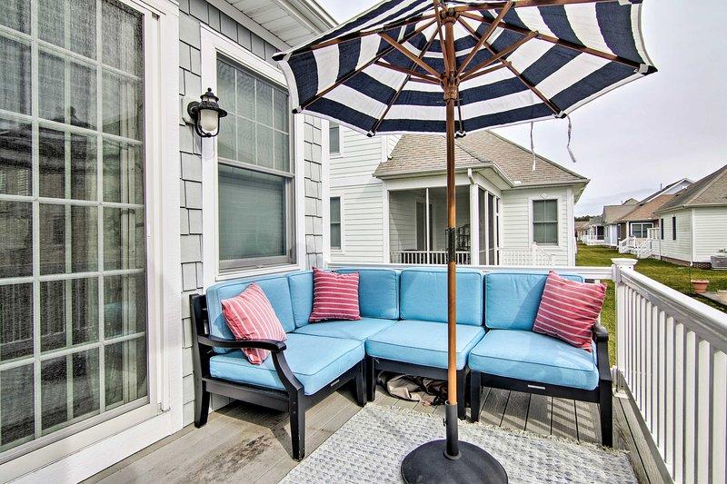 NEW! Bayside Resort Retreat 6 Mi to Fenwick Island, alquiler de vacaciones en Selbyville