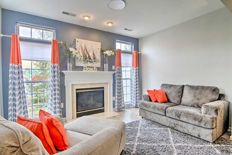 NEW! Vibrant Suburban Home: <4 Mi to Bethany Beach, vacation rental in Millville