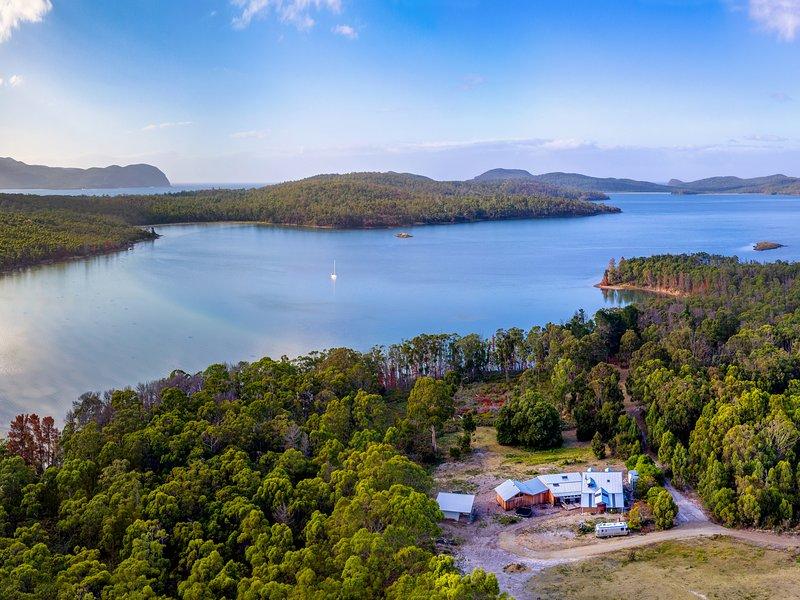 Bruny Island Lodge, aluguéis de temporada em Eggs and Bacon Bay