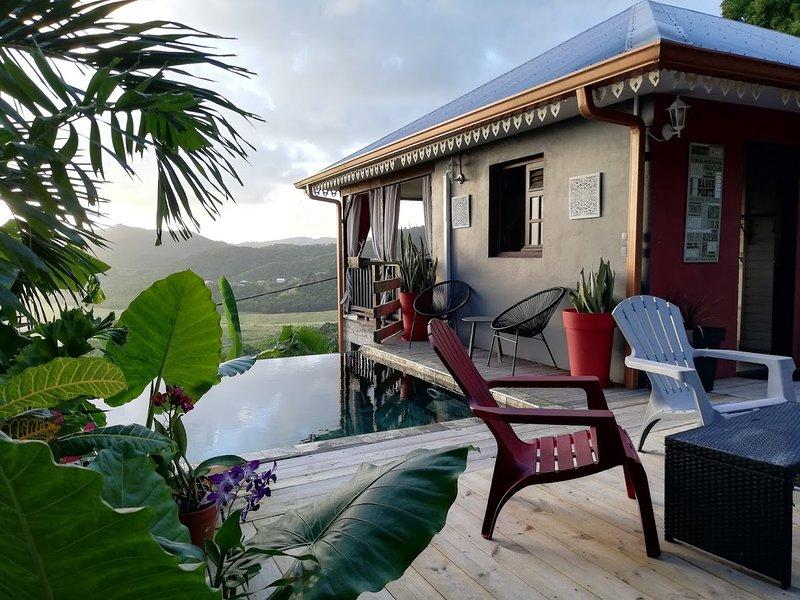 Muscade Lodge, location de vacances à Le Marin