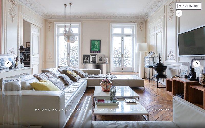 Heart of Paris, Luxury, Stylish Apartment  300 m2, 4Bd/3.5 Bath, aluguéis de temporada em Paris