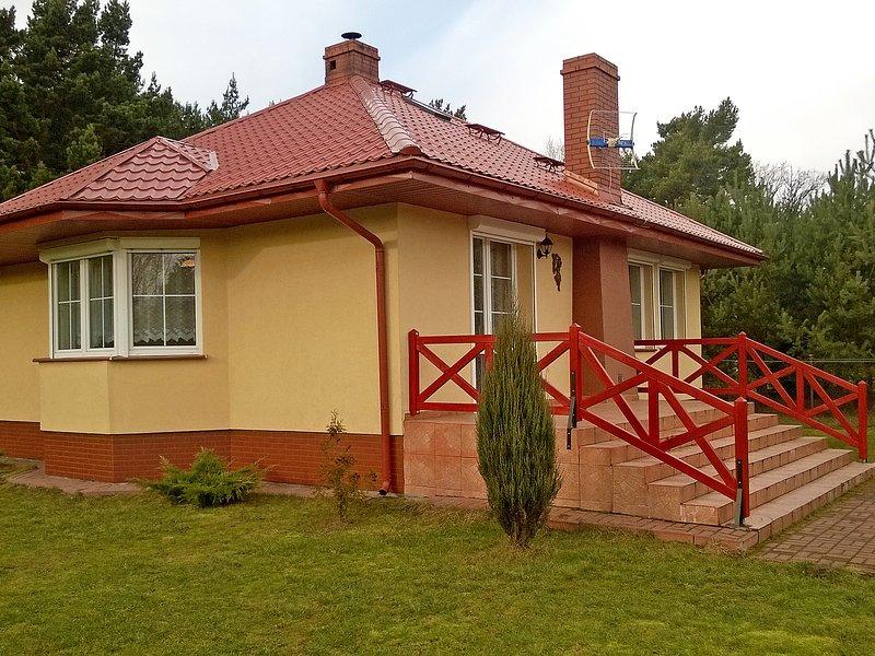 Smołdziński Las, alquiler de vacaciones en Leba