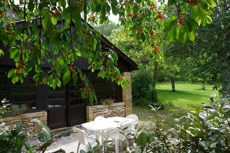 Gite Vézère du domaine de la huppe proche Sarlat, casa vacanza a Saint-Cyprien