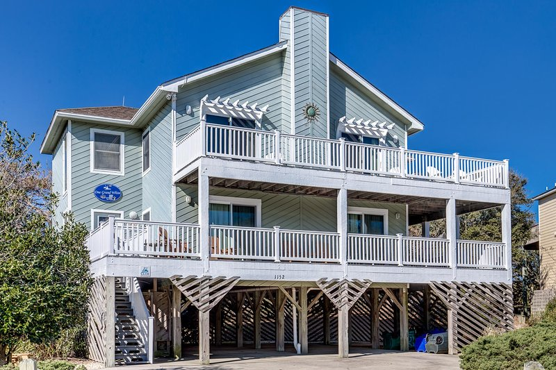One Grand Whim | 698 ft from the Beach | Community Pool, Hot Tub | Corolla, location de vacances à Corolle