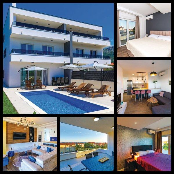 NEW VILLA DAVID - CORONA FREE, vacation rental in Kastela