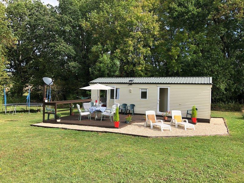 La Petite Maison Mobile, alquiler de vacaciones en Barbezieux-Saint-Hilaire